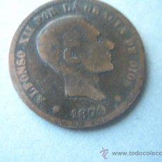 Monedas de España: -MONEDA DE ESPAÑA-ALFONSO XII-5 CENTIMOS-1879-COBRE-.. Lote 37971208