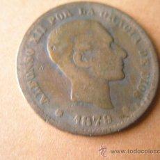 Monedas de España: -MONEDA DE ESPAÑA-5 CENTIMOS-ALFONSO XII-1879-COBRE-.. Lote 37972238