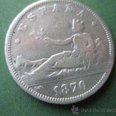 Monedas de España: -MONEDA DE ESPAÑA-2 PESETAS-PLATA-1870*73-DE.M--.. Lote 37972680