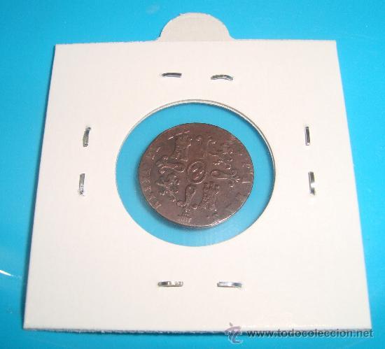 Monedas de España: MONEDA DE COBRE, 2 MARAVEDIS 1849, ISABEL II, CECA SEGOVIA - Foto 2 - 38023982