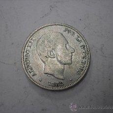 Monedas de España: 50 CENTAVOS DE PESO DE FILIPINAS. REY ALFONSO XII DE 1882. Lote 38217263