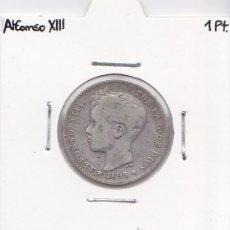 Monedas de España: 1 PESETA 1899 ALFONSO XIII. Lote 38331243