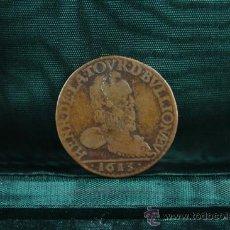 Monedas de España: LIARD 3ER TIPO - SEDAN - HENRI DE LA TOUR - 1613. Lote 38365884