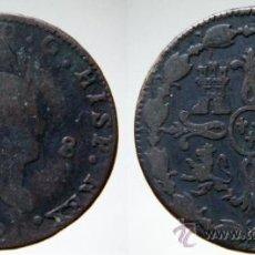 Monedas de España: 8 MARAVEDÍS FERNANDO VII 1820 JUBIA. Lote 38480702
