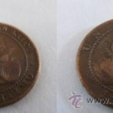Monedas de España: 1 CENTIMOS DE 1870, GOBIERNO PROVISIONAL I REPUBLICA. Lote 38558289