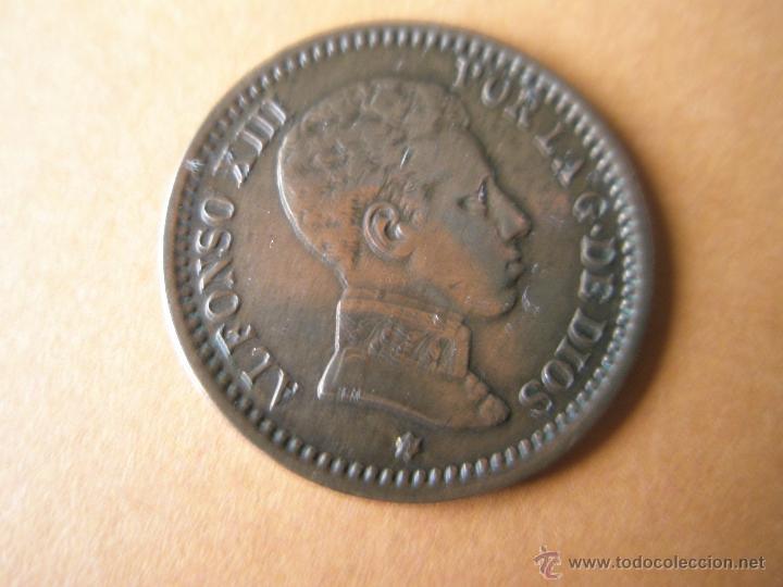-MONEDA DE ESPAÑA-2 CENTIMOS-1904 *04--ALFONSO XIII-COBRE-20 MM.D-... (Numismática - España Modernas y Contemporáneas - De Isabel II (1.834) a Alfonso XIII (1.931))
