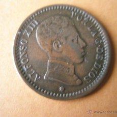 Monedas de España: -MONEDA DE ESPAÑA-2 CENTIMOS-1904 *04--ALFONSO XIII-COBRE-20 MM.D-.... Lote 39446934