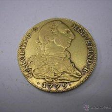 Monedas de España: 4 ESCUDOS DE ORO DE 1779 PJ. CECA DE MADRID. REY CARLOS III. Lote 39618901