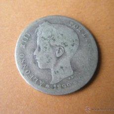 Monedas de España: MONEDA DE ESPAÑA-1 PESETA-1899-ALFONSO XIII-.. Lote 39645915