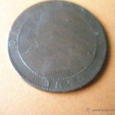 Monedas de España: -MONEDA DE ESPAÑA-10 CENTIMOS-1870-COBRE-.. Lote 39654403