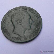 Monedas de España: 10 CENTIMOS DE COBRE DE 1879 EN BASTANTE . Lote 39834526