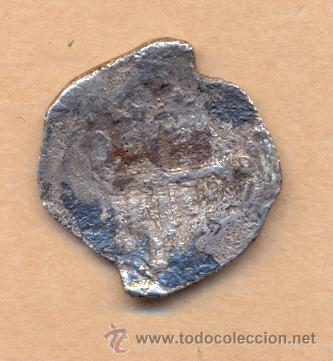 Monedas de España: MONEDA 893 FELIPE II PLATA REAL DE A 4 CECA DE LA PLATA SIN FECHA TIPO 225 CALICÓ TRIGO MEDID - Foto 2 - 39892722