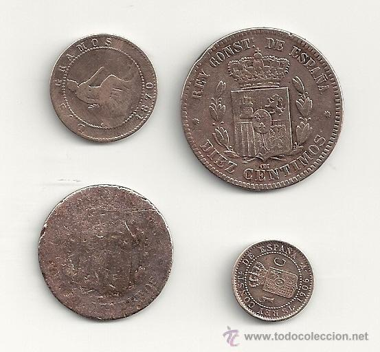 Monedas de España: LOTE MONEDAS DE COBRE 1878, 1870, 1906 - Foto 2 - 40205875