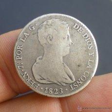 Monedas de España: 4 REALES FERNANDO VII 1823 VALENCIA - ! ESCASA ¡ - PLATA. Lote 40373226