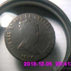 Monedas de España: ESCASAS. 8 MARAVEDIS ISABEL II. 1836. CECA SEGOVIA Y VALORACION EN EL REVERSO.. Lote 40380093