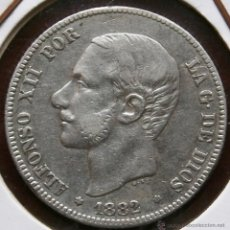 Monedas de España: ALFONSO XII 2 PESETAS 1882*82 VER FOTOS . Lote 40819292