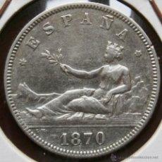 Monedas de España: GOBIERNO PROVISIONAL I REPÚBLICA 2 PESETAS 1870*73 VER FOTOS. Lote 40819780