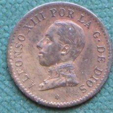 Monedas de España: ALFONSO XIII 1 CÉNTIMO 1912 *2 PCV. Lote 40828933