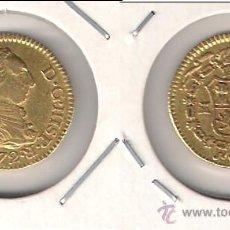 Monedas de España: MONEDA DE MEDIO ESCUDO DE CARLOS III ACUÑADA EN MADRID EN EL AÑO 1772 ENSAYADOR PJ. ORO. MBC. (C3-56. Lote 41315990