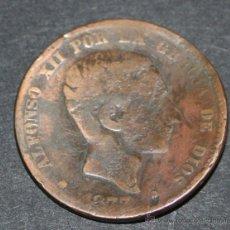 Monedas de España: MONEDA DE 10 CENTIMOS - ALFONSO XII 1877. Lote 41364009