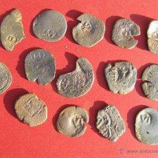 Monedas de España: LOTE DE RESELLOS SIGLO XVII.. Lote 42389367