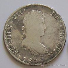 Monedas de España: 8 REALES FERNANDO VII 1818 MEXICO MONEDA COLONIAL DE PLATA. Lote 42573593