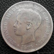 Monedas de España: ¡¡ ESCASA !! MONEDA DE PLATA DE 1 PESO DE PUERTO RICO. CERTIFICADO NGC!!!!. Lote 194736740