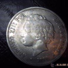 Monedas de España: CINCO PESETAS DE PLATA DE ALFONSO XIII AÑO 1892. MBC.. Lote 42624979