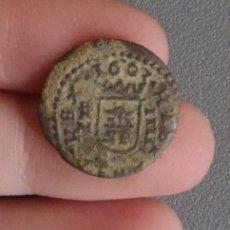 Monedas de España: 4 MARAVEDÍS FELIPE IV AÑO 1663 CIRCULADA, CATALOGABLE. Lote 42642656