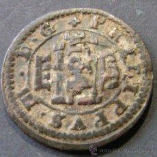 Monedas de España: FELIPE IV - 6 MARAVEDIS 1641 CUENCA - RESELLADOS SOBRE 4 MARAVEDIS FELIPE III 1617 SEGOVIA. Lote 42796136