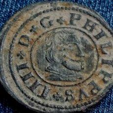 Monedas de España: MONEDA DE FELIPE IV 16 MARAVEDIS 1663 SEGOVIA. Lote 42915812