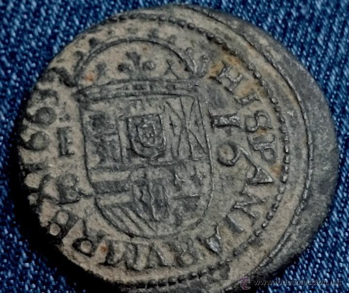 Monedas de España: MONEDA DE FELIPE IV 16 MARAVEDIS 1663 SEGOVIA - Foto 2 - 42915812