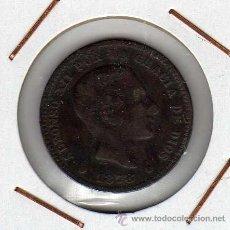 Monedas de España: ALFONSO XII : 5 CÉNTIMOS 1878 OM BARCELONA BC. Lote 43209954