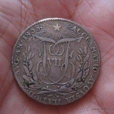 Monedas de España: FERNANDO VII MEDALLA PROCLAMACIÓN 1808 MÓDULO 2 REALES. Lote 43355601