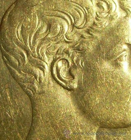 Monedas de España: ESPAÑA 100 PESETAS ORO ALFONSO XIII E,B.C- VARIANTE SIN CATALOGAR - Foto 3 - 43573036