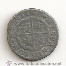 Moedas de Espanha: ESCASA MONEDA EN CALAMINA CARLOS III 1768 2 REALES COLECCIÓN ORTIZ 3,90GR-25MM. MBC-. Lote 244820545