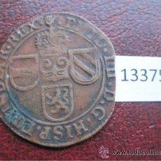 Monedas de España: ESPAÑA , 1 LIARD 1650 AMBERES, PAISES BAJOS ESPAÑOLES , FELIPE IV. Lote 43658416
