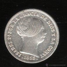Monedas de España: MONEDA DE 1 REAL. ISABEL II. 1853. BARCELONA.. Lote 156567044