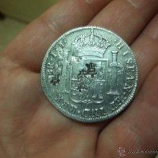 Monedas de España: MONEDA PLATA CON CUÑOS CHINOS 1818 FERNANDO VII. Lote 43853183