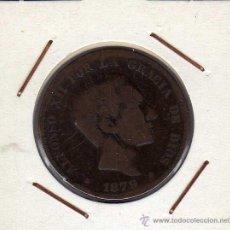Monedas de España: ALFONSO XII : 10 CËNTIMOS 1879 OM BARCELONA BC. Lote 43967706