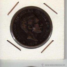 Monedas de España: ALFONSO XII : 10 CÉNTIMOS 1879 OM BARCELONA MBC+. Lote 44329737