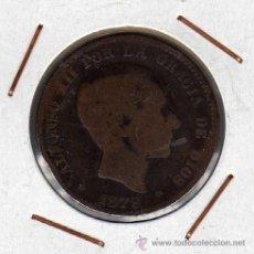 Monedas de España: ALFONSO XII : 10 CÉNTIMOS 1879 OM BARCELONA ( USADA ) . Lote 44661880