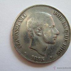 Monedas de España: ALFONSO XII * 50 CENTAVOS DE PESO 1885 * FILIPINAS * PLATA. Lote 44901290