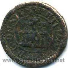 Monedas de España: FELIPE II, 1 MARAVEDI 1598 ACUÑADO EN SEGOVIA SIN CECA NI VALOR (ESCASO). Lote 45142070