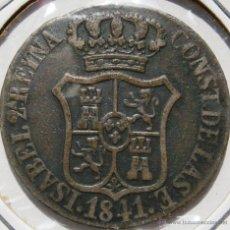 Monedas de España: ISABEL II 6 CUARTOS 6 CUAR 1841 PRINCIPADO DE CATALUÑA VER FOTOS. Lote 45143283