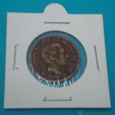 Monedas de España: MONEDA CINCO CENTIMOS ALFONSO XII 1878 COBRE. Lote 45230843