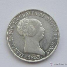 Monedas de España: ISABEL II: 10 REALES 1853 MADRID......ESPECTACULARES (REF 206). Lote 45232562