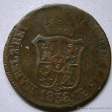 Monedas de España: ISABEL II 3 CUARTOS 3 CUARS PRINCIPADO DE CATALUÑA 1936 CORDONCILLO DEL CANTO A LA IZQUIERDA. Lote 45263612