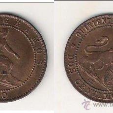 Monedas de España: MONEDA DEL GOBIERNO PROVISIONAL DE LA I REPÚBLICA DE 2 CÉNTIMOS-OM DE BARCELONA DE 1870. SC. (GP1). Lote 45480134