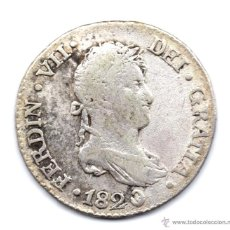 Monedas de España: 2 REALES FERNANDO VII 1820 SEVILLA CJ. Lote 45663340